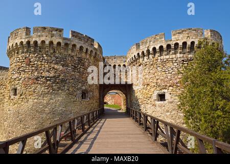 Kalemegdan Fortress, Belgrade, Serbia - Stock Photo