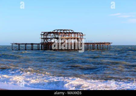 West Pier, Brighton - Stock Photo