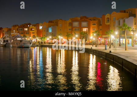 Aegypten, Hurghada, Marina - Stock Photo
