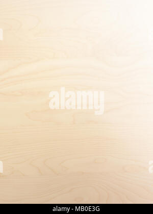 subtle light brown tan smooth birch wood grain abstract background surface with gradient stock photo