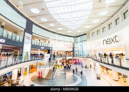 Manchester Arndale Centre, UK - Stock Photo
