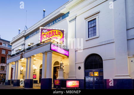 England, London, The West End, Theatre Royal Drury Lane - Stock Photo
