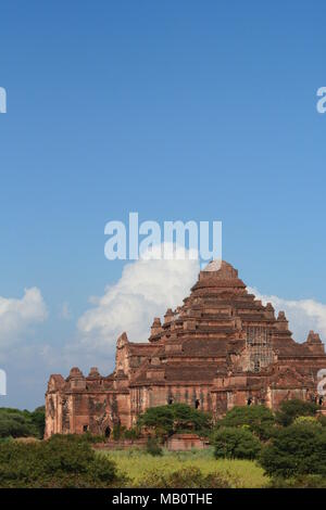 Dhammayangyi temple. Bagan. Mandalay region. Myanmar - Stock Photo