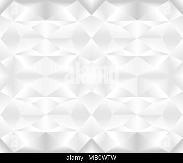 Seamless geometric pattern in gradient black and white colors. Vector illustration, EPS10. - Stock Photo