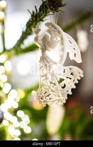 Angel - Christmas tree decoration - Stock Photo