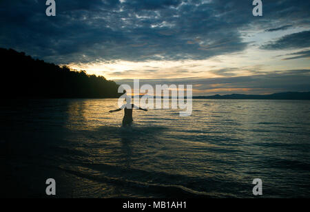 Inhabited island. Gorontalo. Sulawesi. Indonesia - Stock Photo