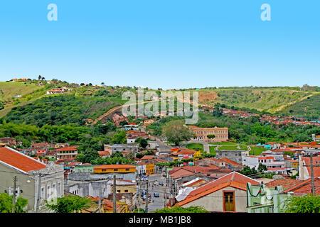 Houses, Bananeiras, Paraiba, Brazil - Stock Photo