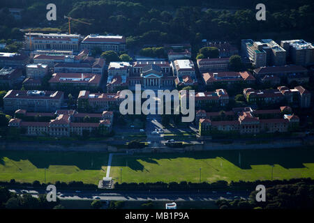 University of Cape Town, Cape Town, South Africa - aerial - Stock Photo