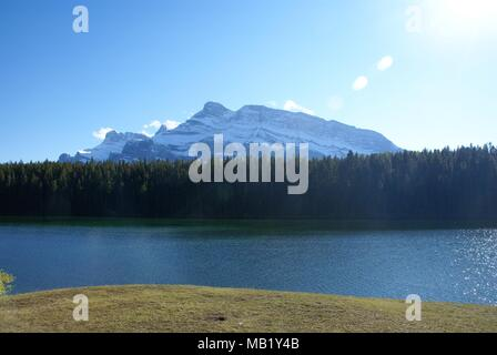 landscapes taken during holidays in Canada national parks - Stock Photo