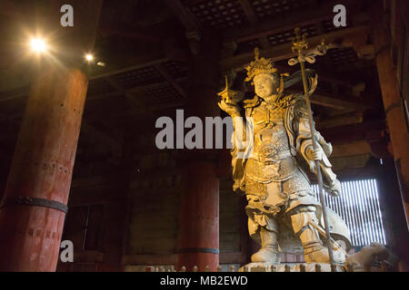 Buddha statue in Todaiji - Stock Photo