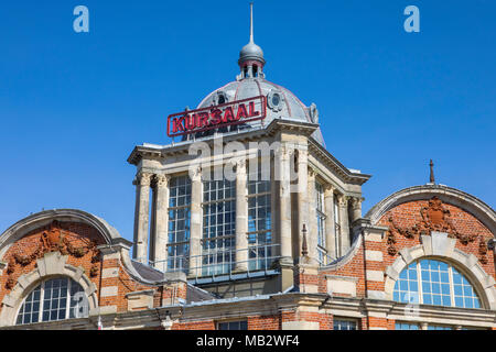 A view of the historic Kursaal located in Southend-on-Sea in Essex, UK.  It opened in 1901 as part of one of the worlds first amusement parks. - Stock Photo
