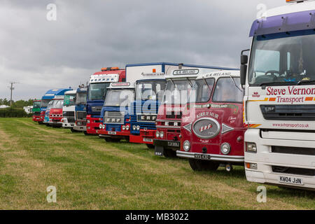 Kelsall Steam Fair 2013, Cheshire. - Stock Photo