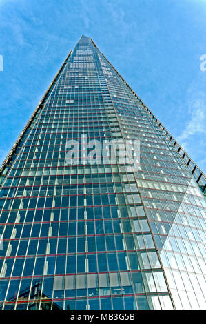 The Shard, London Bridge Street, London, United Kingdom - Stock Photo
