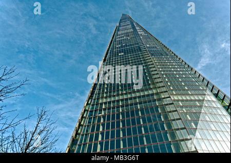 The Shard, London Bridge Street, London, United Kingdom - Stock Photo