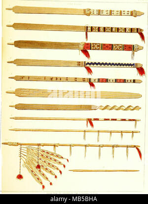 Historical and statistical information respecting the history, condition, and prospects of the Indian tribes of the United States; collected and prepared under the direction of the Bureau of Indian Affairs per act of Congress of March 3rd, 1847 - Stock Photo