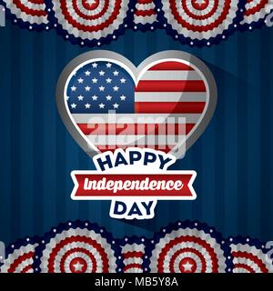 american independence day - Stock Photo