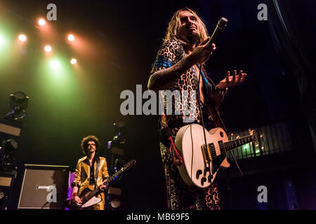 The Darkness kick off their Tour de Prance in Los Angeles, CA - Stock Photo