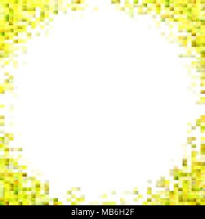 Abstract gradient rectangle background - digital vector mosaic design - Stock Photo