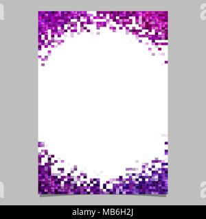 Abstract mosaic page template - gradient document design - Stock Photo