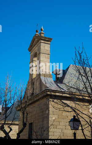 Chapel. San Lorenzo de El Escorial, Madrid province, Spain. - Stock Photo
