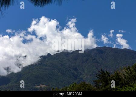 Volcan Baru, Panama's highest volcano, Boquete, Panama - Stock Photo