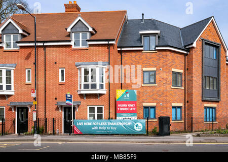 New houses for sale - Stock Photo
