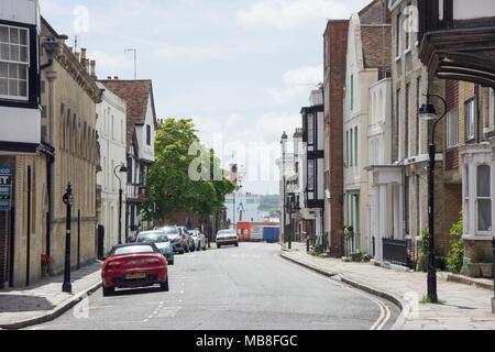 Bugle Street, Southampton, Hampshire, England, United Kingdom - Stock Photo