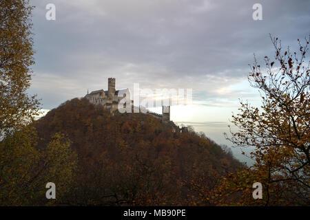 Bezdez Castle in Northern Bohemia, Czech Republic. - Stock Photo