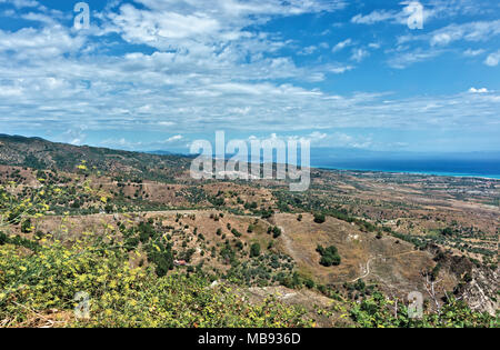 Italy Calabria Ionian landscape - Stock Photo