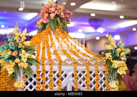 Images related with natural views and  beautiful setup of wedding  and marriage ceremony and awesome location of wedding and marriages - Stock Photo