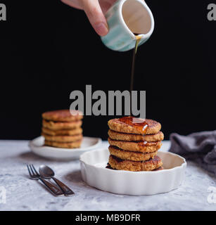 Quinoa Pancakes - Stock Photo