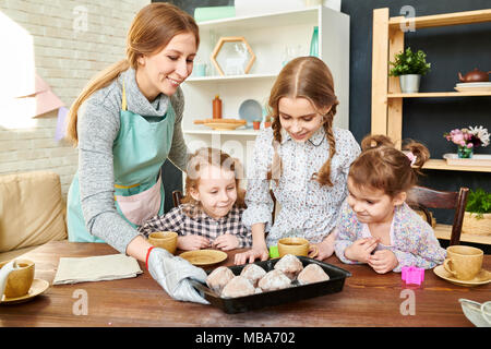 Gathered Together for Tea Party - Stock Photo
