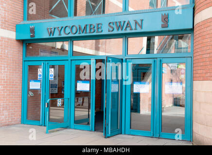 Wycombe Swan Theatre, High Wycombe, Buckinghamshire, England, UK - Stock Photo