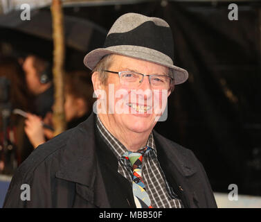 London, UK. 9th Apr, 2018. Mike Newell, The Guernsey Literary and Potato Peel Pie Society - World Premiere, Curzon Mayfair, London UK, 09 April 2018, Photo by Richard Goldschmidt Credit: Rich Gold/Alamy Live News - Stock Photo