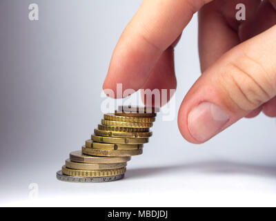 Saved money concept. - Stock Photo