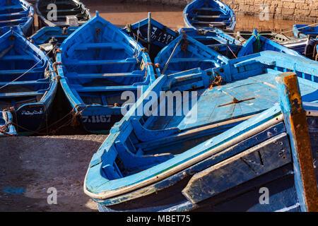 Essaouira is a port city and resort on Morocco's Atlantic coast. - Stock Photo