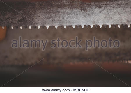 Old Metal sawtooth background - Stock Photo