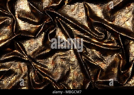 Organtyna is a shiny material which is a material suitable for outfits that are supposed to emphasize status and success. - Stock Photo