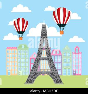 france paris card - Stock Photo