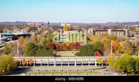 Bicentennial Capitol Mall State Park in Nashville, Tennessee, USA. - Stock Photo