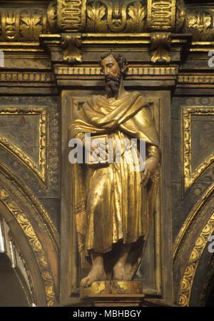 San Nicolo dei Mendicoli, one of the oldest churches in venice - Stock Photo