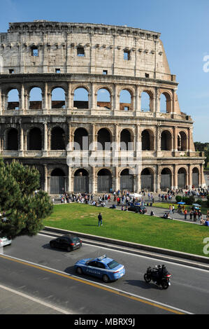 Colosseo (Colosseum) in Historic Centre of Rome listed World Heritage by UNESCO in Rome, Italy. April 29th 2011 © Wojciech Strozyk / Alamy Stock Photo - Stock Photo
