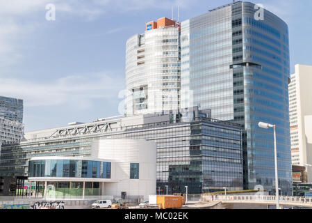 Tech Gate Vienna is a science and technology park in the City of Vienna, Austria April.11,2018 - Stock Photo