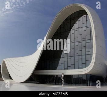 Heydar Aliyev center. Baku. Azerbaijan - Stock Photo