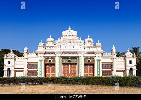 Jagan Mohan Palace in Mysore, Karnataka, India - Stock Photo