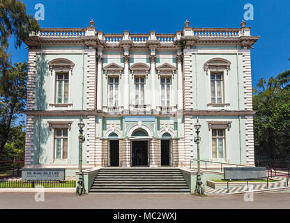 The Dr. Bhau Daji Lad Mumbai City Museum (formerly the Victoria and Albert Museum) is the oldest museum in Mumbai, India - Stock Photo