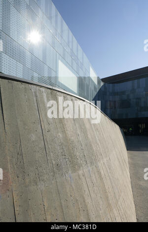 Detail of the National Automobile Museum, Turin, Italy. - Stock Photo