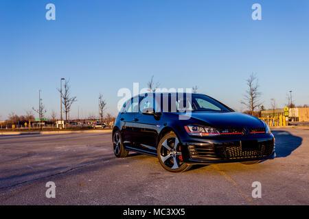 Volkswagen Golf Gti Mk7 Stock Photo 179566544 Alamy