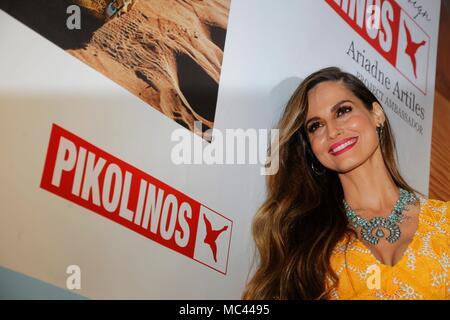 Ariadne Artiles durante una presentacion. (Photo: Jose Cuesta/261/Cordon Press).  Cordon Press - Stock Photo