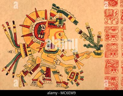 Calendars Aztec The Sun God Tonatiuh Of The Mayan Astrological